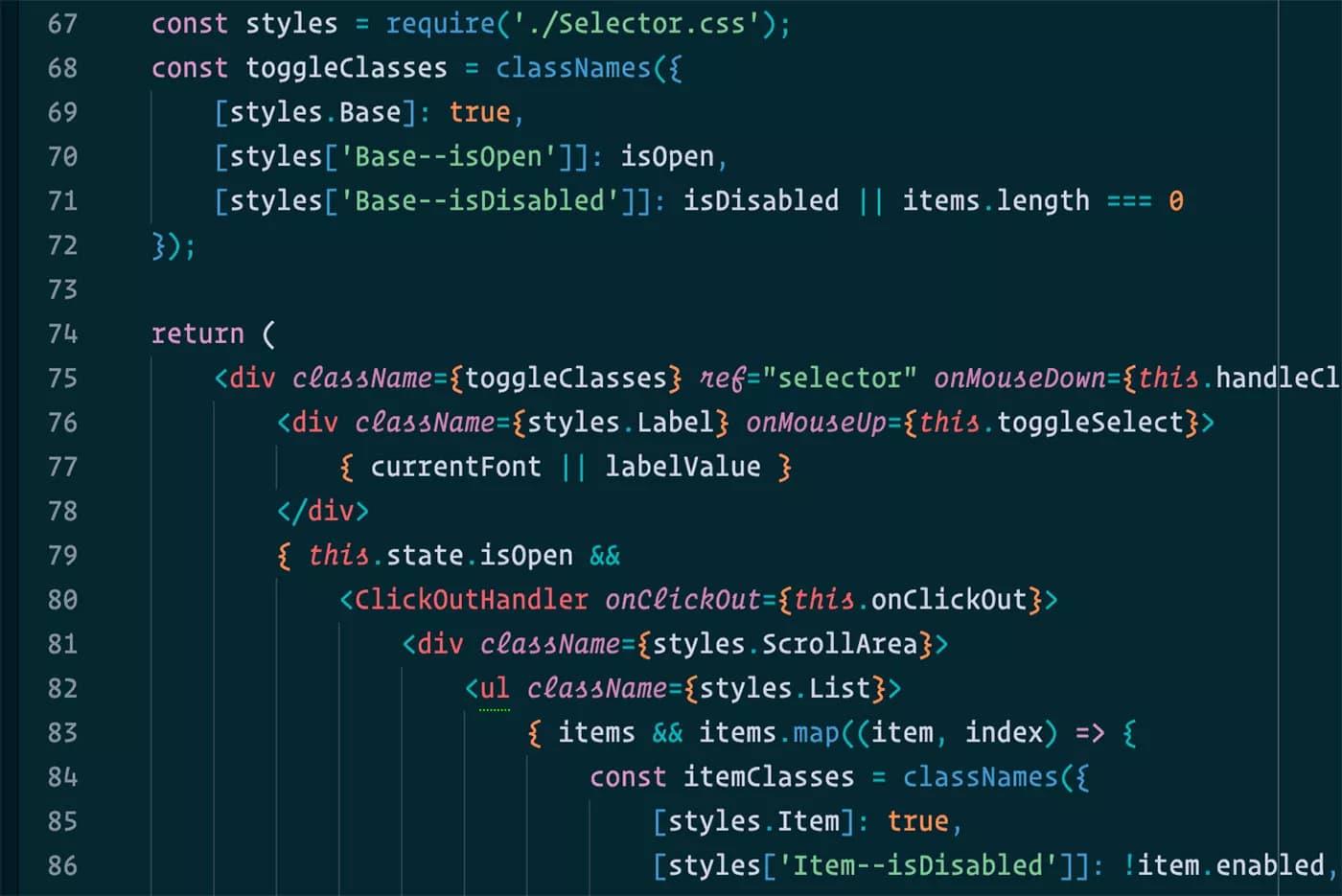 Operator Mono Visual Studio Code